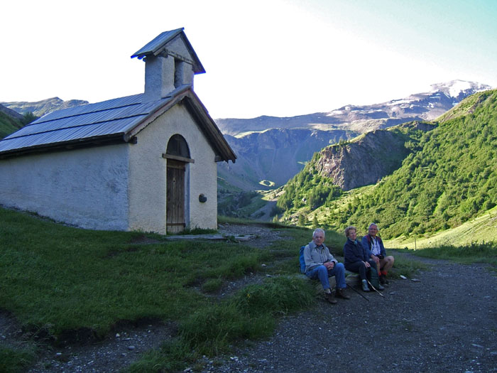Photo, randonnee, chapelle la saulce, prapic, st bonnet, ecrins, champsaur, alpes
