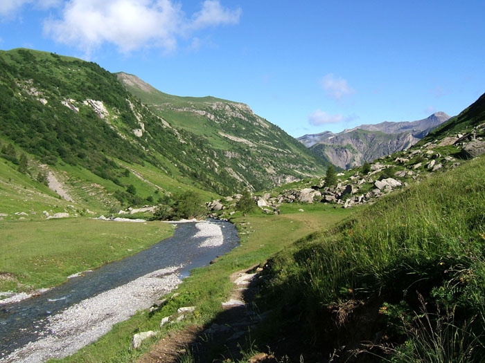 Photo, randonnee, champsaur, st bonnet, ecrins, alpes